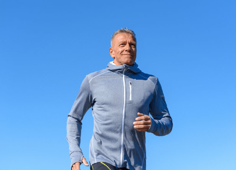 How Quickly does Testosterone Therapy Work - Mature Man Running